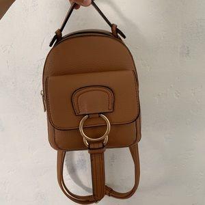 Handbags - Brown mini backpack